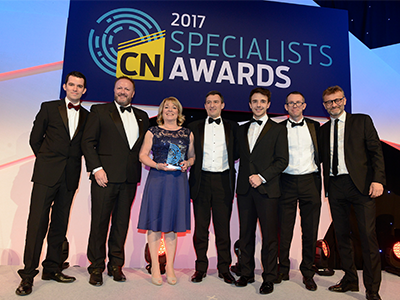 Construction News Materials Supplier of the Year Keystone