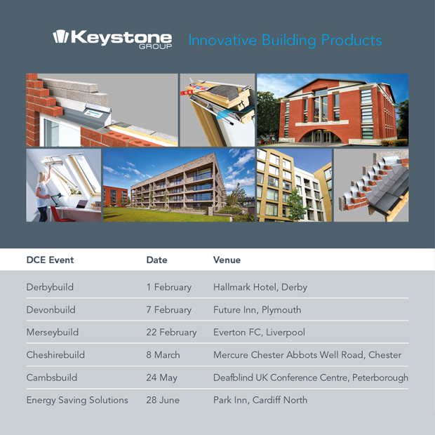 DCE dates Keystone Group