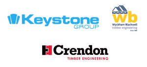 Keystone Group, Wyckham Blackwell Timber engineering, Crendon Timber Engineering